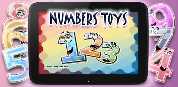 Numbers Toys Android Edugame