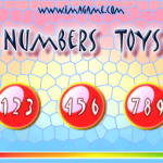 Numbers Toys main menu